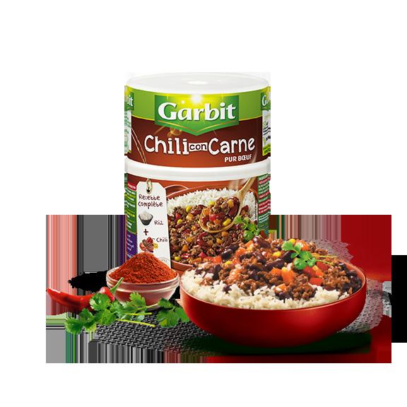 Chili Con Carne pur boeuf par Garbit
