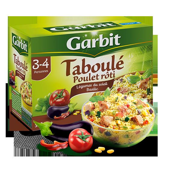 taboulé poulet roti par Garbit
