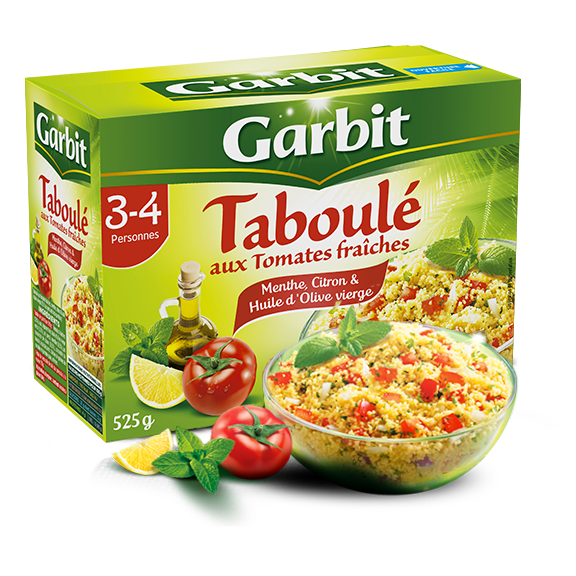 taboulé tomates citron maxi par Garbit